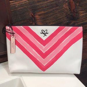 Victoria's Secret Cosmetic Makeup or Clutch Bag LG